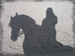 призрак на белом коне
