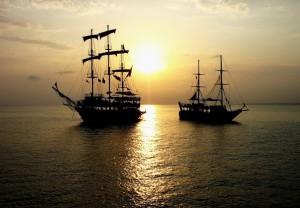 как в море корабли