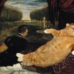 Тициан Вечеллио, Венера и Купидон