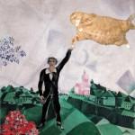 Марк Шагал, Влюбленные. Прогулка