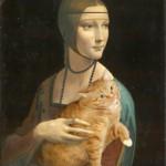 Леонардо да Винчи, Дама горностаем